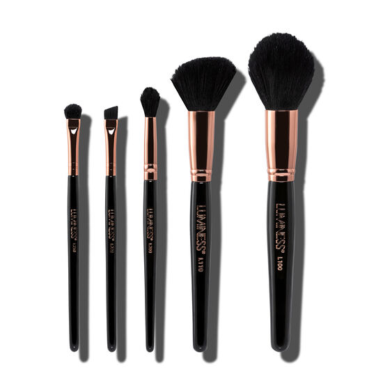 Luminess 5pc Makeup Brush Kit image number null